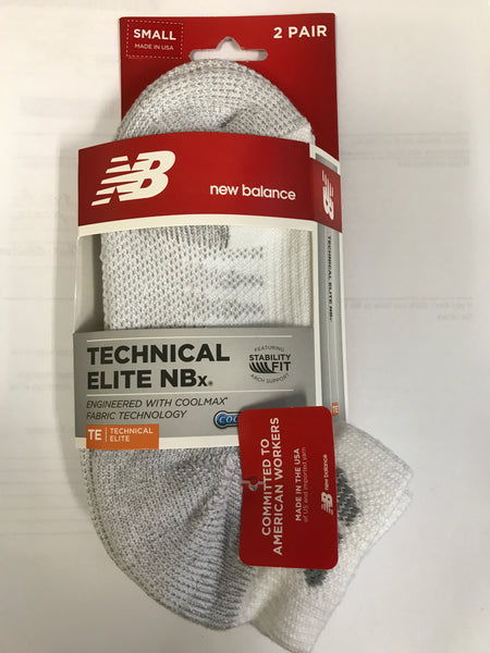 New Balance Technical Elite NBx Coolmax Socks - 2 pairs