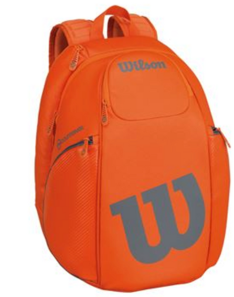 Wilson Burn Orange/Grey Backpack