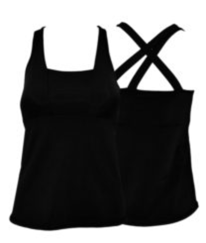 BPassionit Strap Back Tank w/ Bra - Large Only