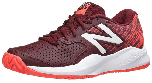 New Balance WC 696v3 D Oxblood/Coral