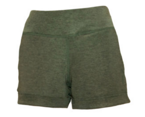 BPassionit Heather Olive Shorts - Large only