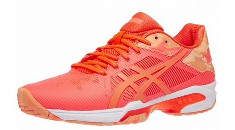 Asics Gel Solution Speed 3 LE Flash Coral