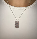 Be Brave - Sterling Silver Necklace