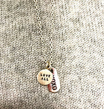 Love All & X0X0 Sterling Silver Necklace