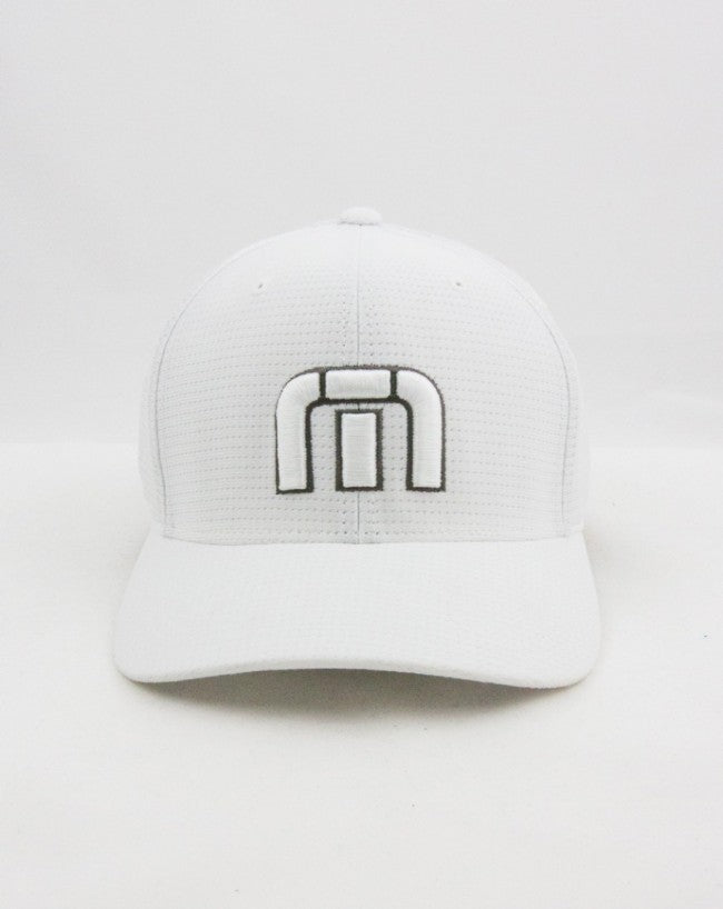 eaaff67321a ... ireland travis mathew flexfit white cap 85249 efc6e