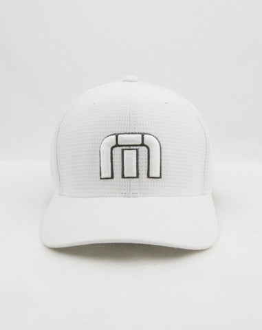 Travis Mathew Flexfit White Cap