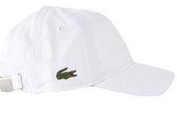 Lacoste White Men's Tennis Cap M