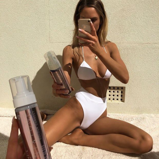 Tint & Tone Gradual Self Tan Mousse + Glow+ Self Tan Drops + Bronzing Mitt (SAVE 20%)