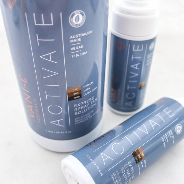 Activate Express Spray Tan Solution - 1L