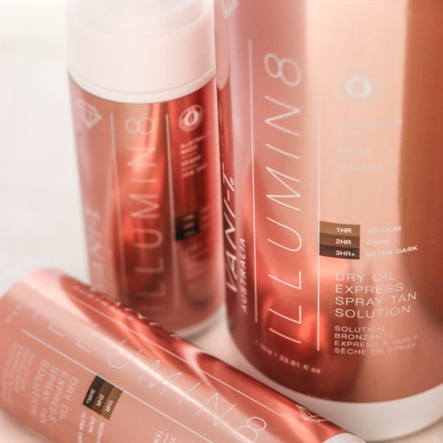 Tan Trio Bundle - Illumin8 Dry Oil Express - SAVE over 15%