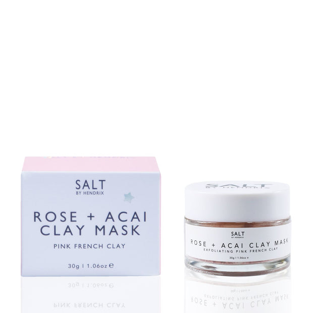 SALT BY HENDRIX - Rose + Acai Face Mask 30G