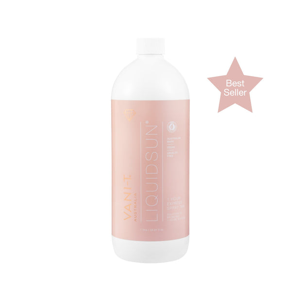 LiquidSun Express Spray Tan Solution - 1L