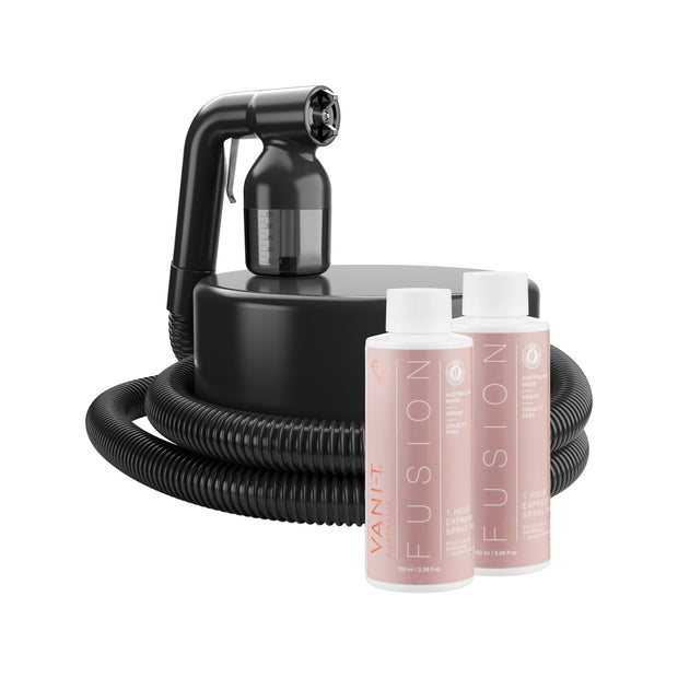 Tan Lite Spray Tan Machine + 2 x FREE 100ML Spray Tan Solution