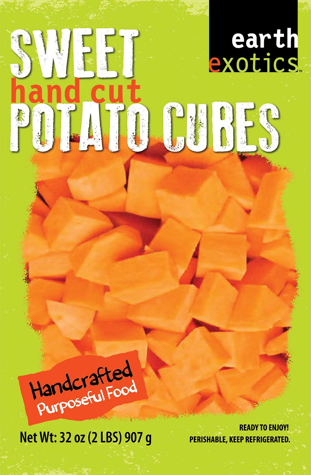 Diced Sweet Potato