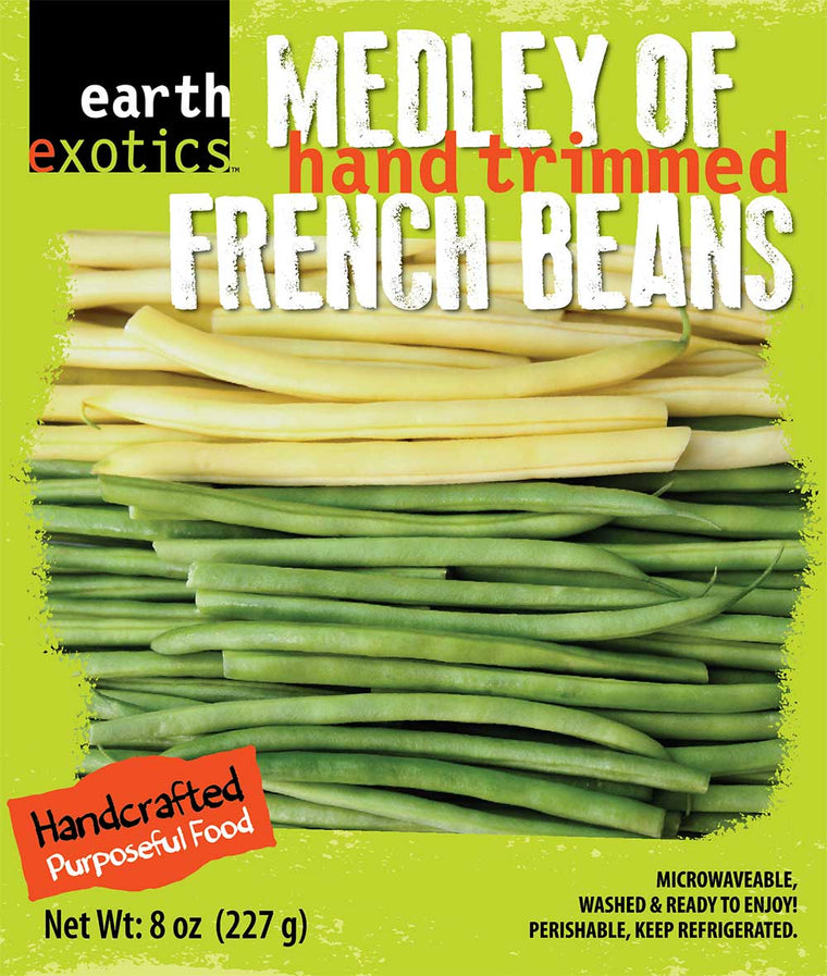 Mixed French Beans