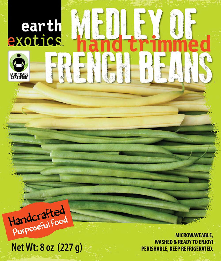 Mixed French Beans<br />Fair Trade