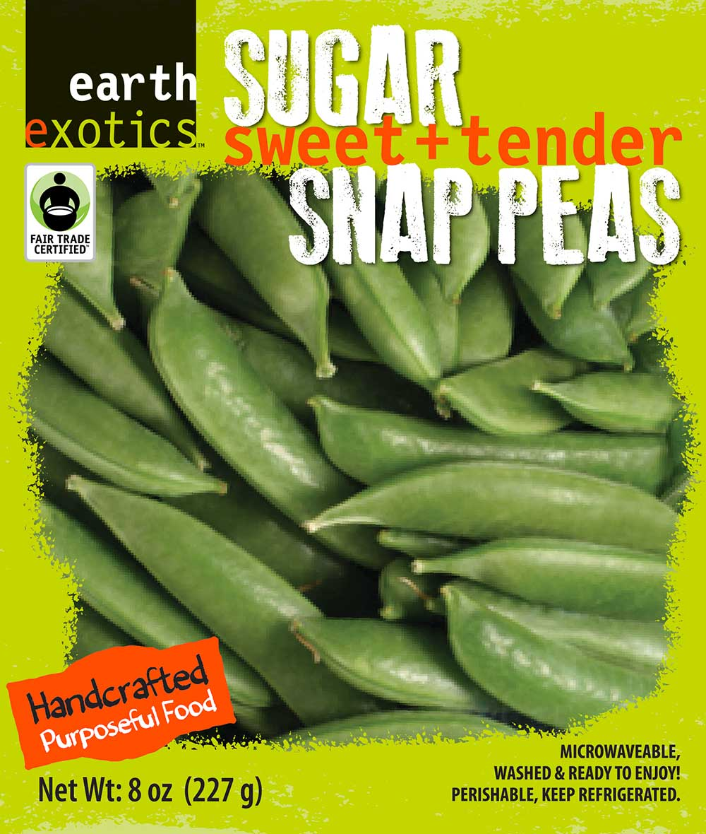 Sugar Snap Peas<br />Fair Trade