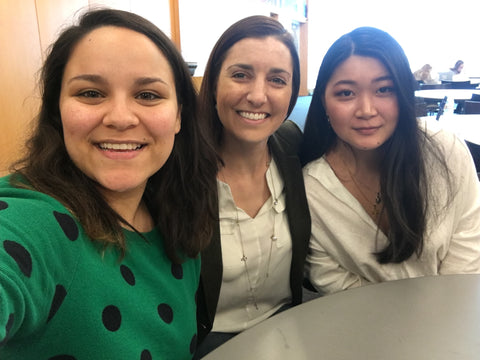 Slade Unlimited interns spring 2018 Julia Rivera Jessie Takahashi Temple University entrepreneurship