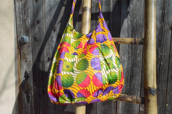 Colored Circles - Malawi Bag