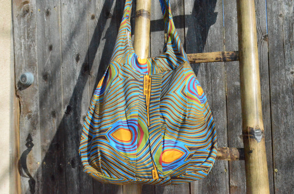 Psychedelic Peacock - Malawi Bag