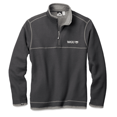 MEN'S STORM CREEK WAFFLE KNIT PULLOVER-WGU Clearance