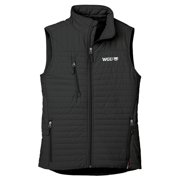 WOMEN'S ECO-INSULATED QUILTED VEST