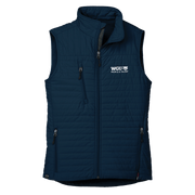 WOMEN'S STORM CREEK ECO-INSULATED QUILTED VEST- People & Talent