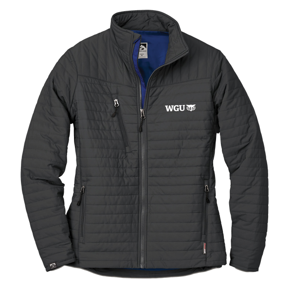 WOMEN'S STORM CREEK ECO-INSULATED QUILTED JACKET