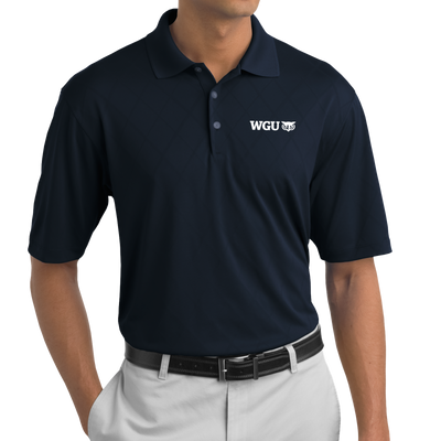 Nike Golf - Dri-FIT Cross-Over Texture Polo - WGU Clearance