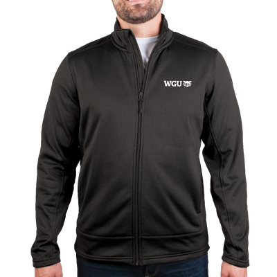 MEN'S STORM CREEK HEATHER PERFORMANCE FLEECE JACKET