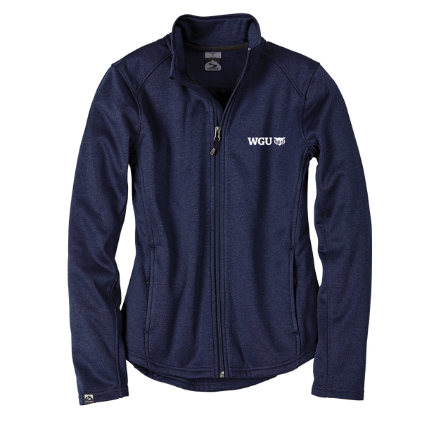 WOMEN'S STORM CREEK HEATHER PERFORMANCE FLEECE JACKET