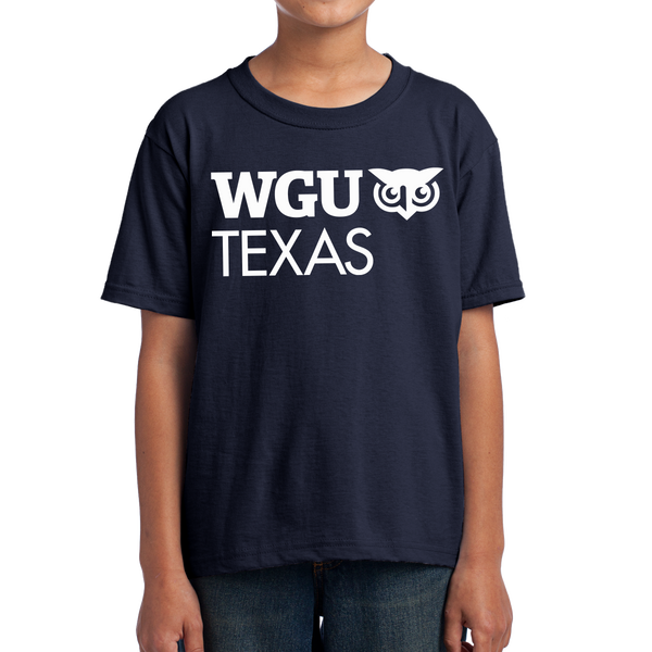Fruit of the Loom Youth HD Cotton 100% Cotton T-Shirt - Texas