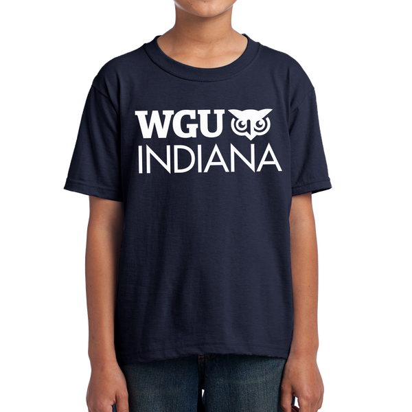 Fruit of the Loom Youth HD Cotton 100% Cotton T-Shirt - Indiana
