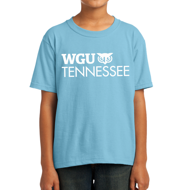 Youth Fruit of the Loom HD Cotton 100% Cotton T-Shirt - Tennessee