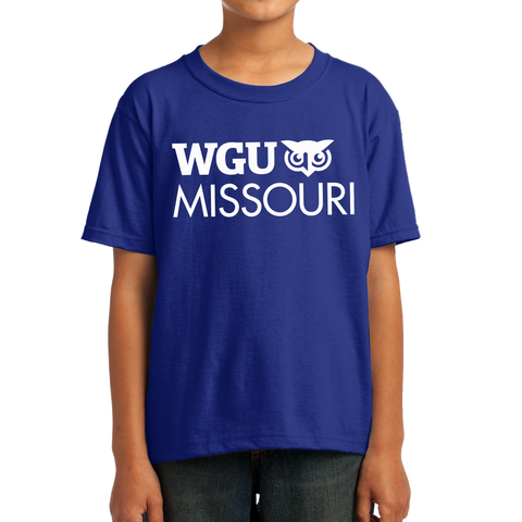 Fruit of the Loom Youth HD Cotton 100% Cotton T-Shirt - Missouri