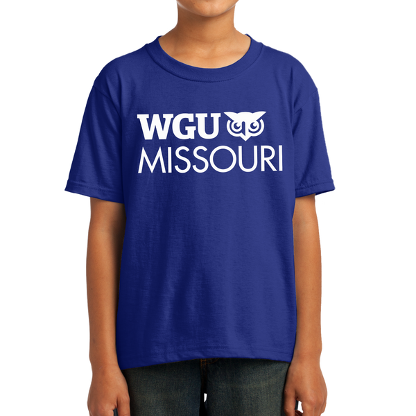 Youth Fruit of the Loom HD Cotton 100% Cotton T-Shirt - Missouri