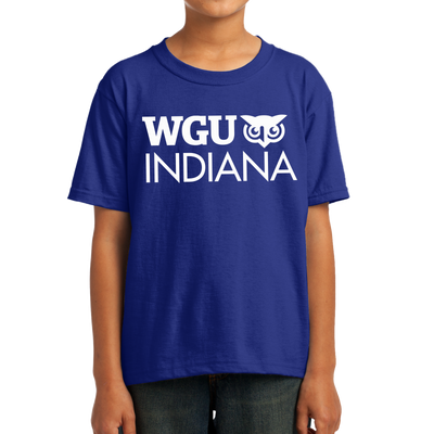 Youth Fruit of the Loom HD Cotton 100% Cotton T-Shirt - Indiana