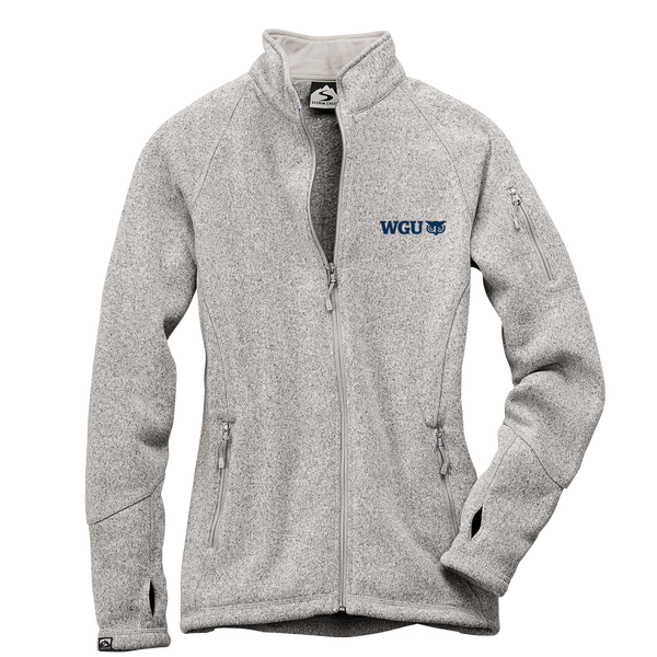WOMEN'S SWEATERFLEECE JACKET