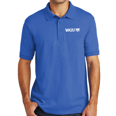 Port & Company® Tall Core Blend Jersey Knit Polo - WGU Clearance