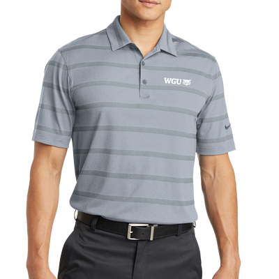 Nike Dri-FIT Fade Stripe Polo - WGU Clearance