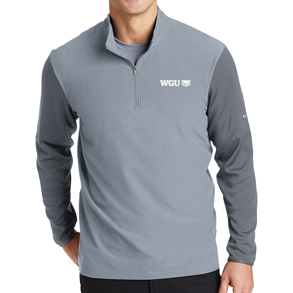 Nike Golf Dri-FIT Fabric Mix 1/2-Zip Cover-Up