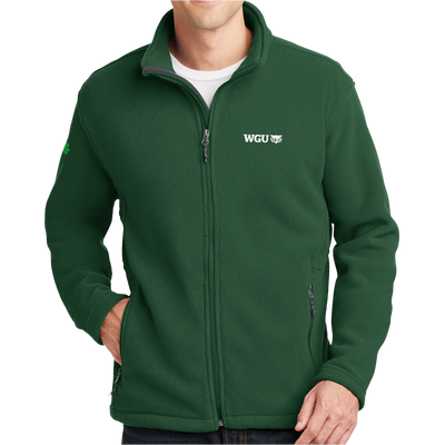 St Patty's Fleece Zip-Up