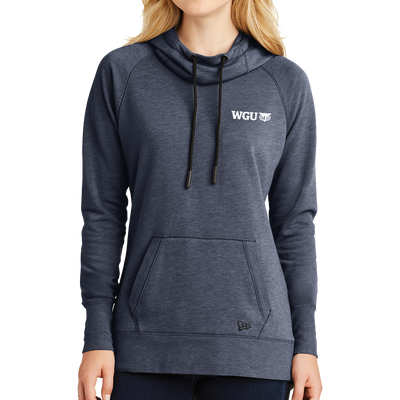 New Era® Ladies Tri-Blend Fleece Pullover Hoodie - WGU Clearance
