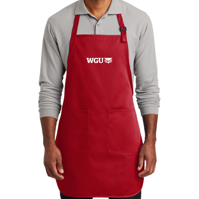 Port Authority ® Full-Length Two-Pocket Bib Apron- WGU Clearance