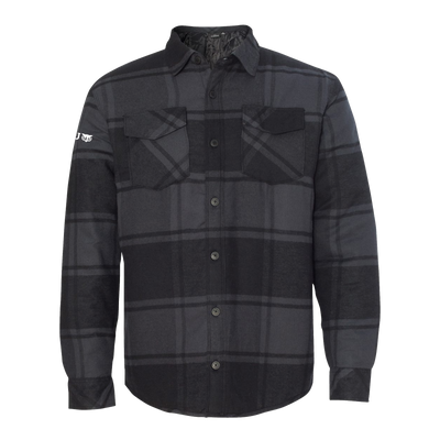 Burnside - Quilted Flannel Jacket - WGU Clearance