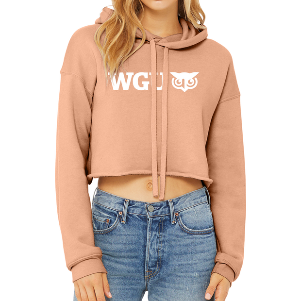 BELLA+CANVAS ® Women's Sponge Fleece Cropped Fleece Hoodie
