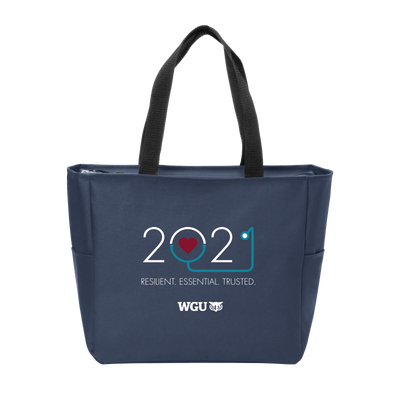 Port Authority Essential Zip Tote -  Nurse 2021 - WGU Clearance