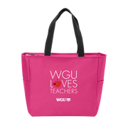 Port Authority Essential Zip Tote - WGU Loves Teachers