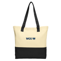 NEW Port Authority® Colorblock Cotton Tote