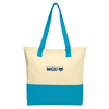 Port Authority® Colorblock Cotton Tote